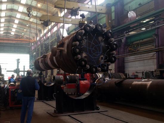 Hydraulische Bolzenspanner nach Maß zum Festziehen eines hydrocrackers Reaktors
