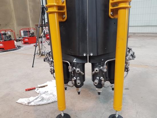 FPT-Zylinder für das Legen des Öls und der Erdgasleitungen