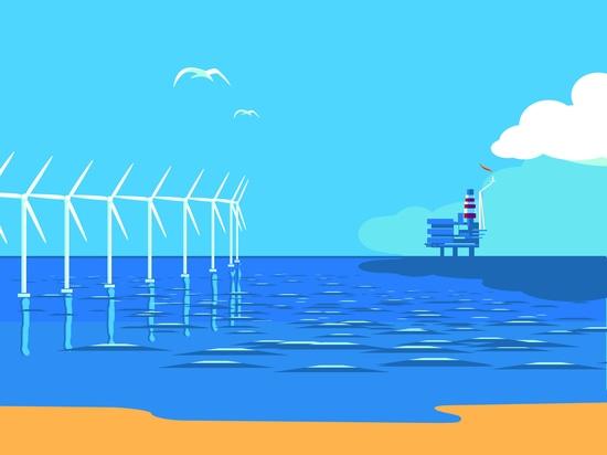 Übertragungsfähigkeiten und Technologien vom Offshoreöl und vom Gas zum Offshorewind