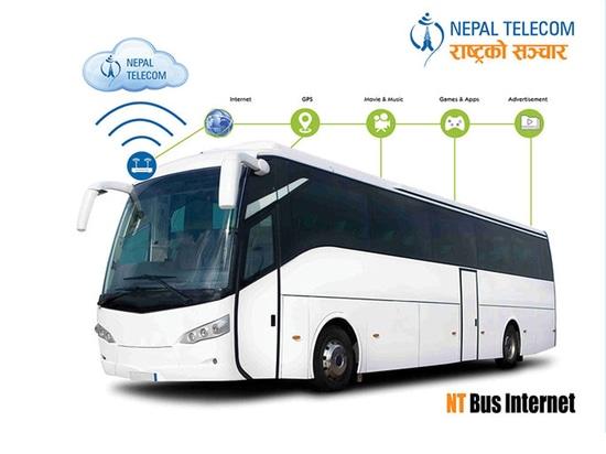 Hongdian-Partner mit Nepal Telecome, zum von Nepal-Reisebus Wi-Fisystem herzustellen