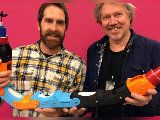 3D GEDRUCKTER ROBOTER des WASSER-PIPE-INSPECTION