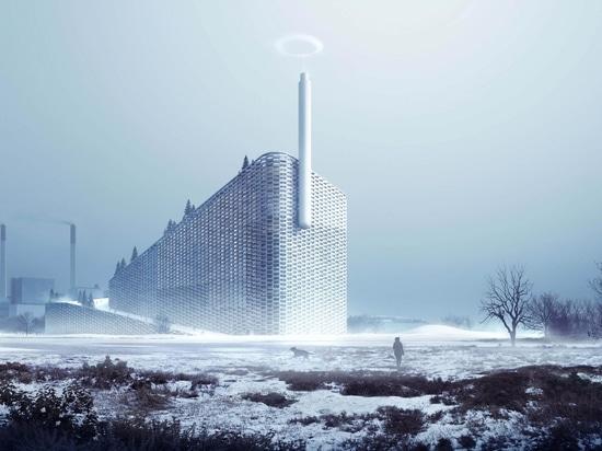 B&W überreicht Copenhill-Abfall zur Energie-u. Skifahren-Anlage in Kopenhagen