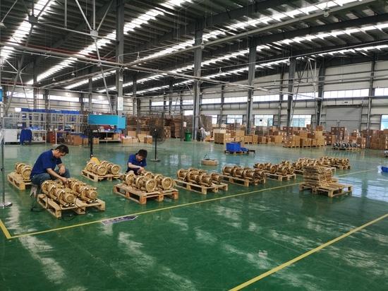 Neue Fabrik, neue Erzeugnislinie,