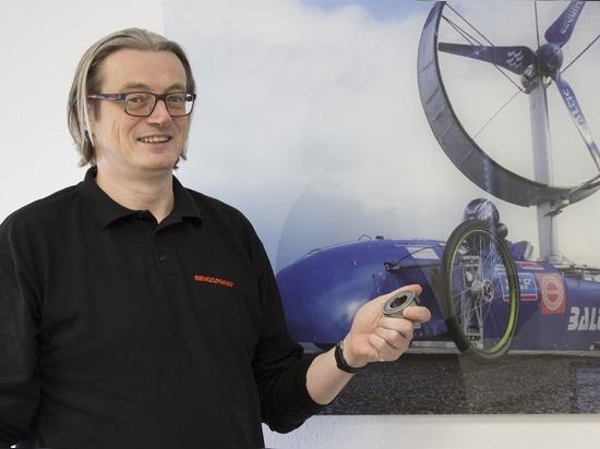 Spartenleiter Thomas Heubach
