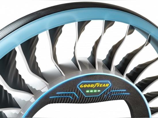 Das Goodyear AERO – ein Konzept-Reifen für autonomes, Flugautos