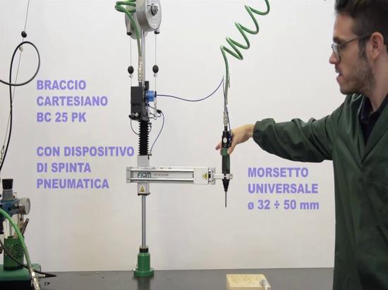 Fortschrittliche ergonomische Hilfsmittel: Nie mehr Kraft für das Verschrauben aufwenden