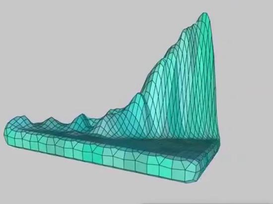 Machen Sie und Druck 3D DNA Ihrer Web site durch majestätische Landschaften sichtbar