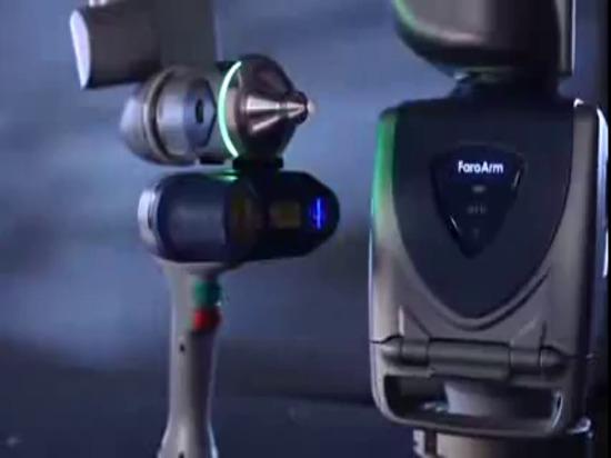 FARO-Rand Scanarm HD messender Arm: Produkt-Video