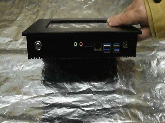 7 Zoll schroffer industrieller Platte PC