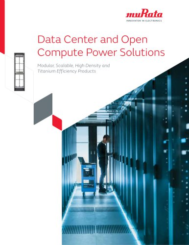 Data Center and Open Compute Power Solutions