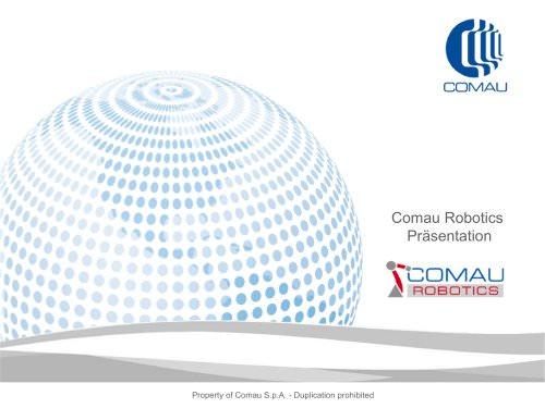 Comau Robotics Präsentation