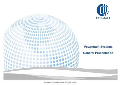 Powertrain Systems General Presentation