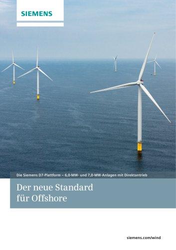 Die Siemens D7-Plattform – 6,0-MW- und 7,0-MW-Anlagen mit Direktantrieb