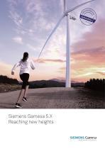 Siemens Gamesa 5.X Reaching new heights
