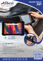 """E8T Rugged tablet 8"""""""