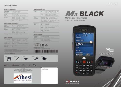 m3 black