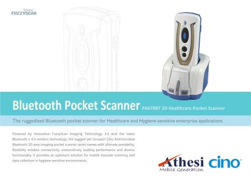 PA670BT 2D Healthcare Pocket Scanner