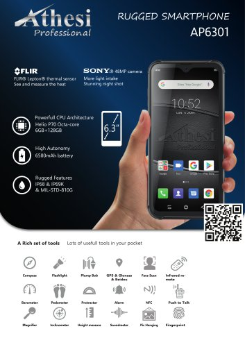 Rugged Smartphone - Athesi Professional - AP6301