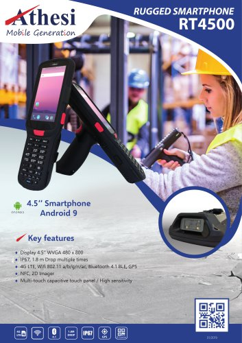 Rugged Smartphone - RT4500