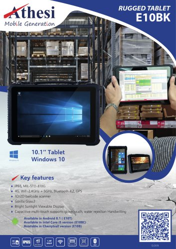 Rugged Tablet E10BK