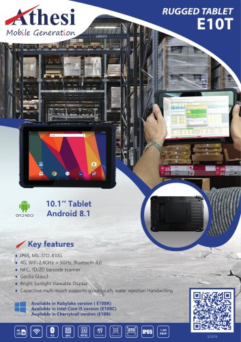 Rugged Tablet E10T