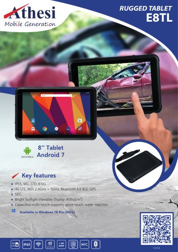 Rugged tablet E8TL