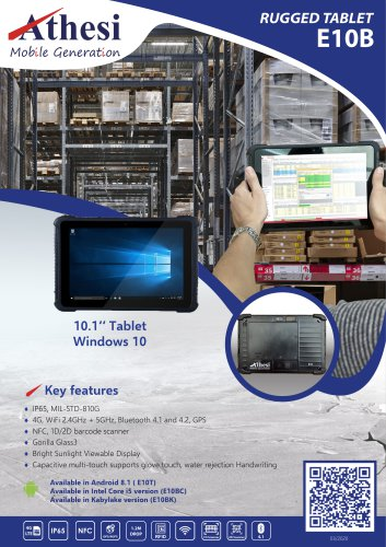 Rugged Tablet PC -E10B