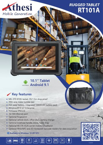 Rugged Tablet RT101A