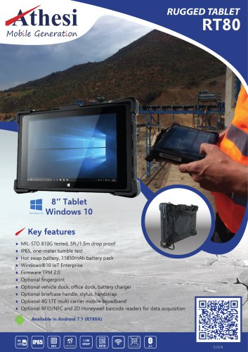 Rugged Tablet RT80