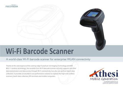 Wi-Fi Barcode Scanner