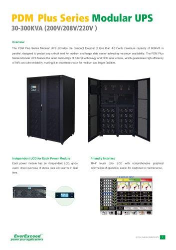 208V & 120V On-line UPS 30-300kVA PDM PLUS series