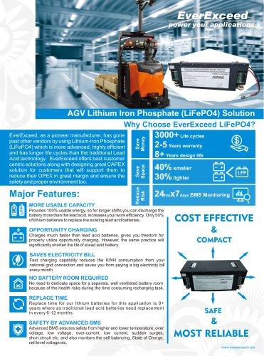 AGV Lithium Solution