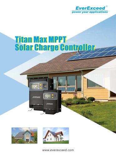 Battery charge controller Titan Max series