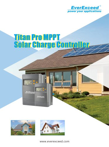 Battery charge controller Titan Pro series