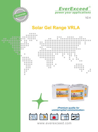 Battery for solar applications ES series