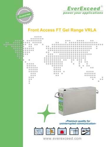 Front access battery FT12V series