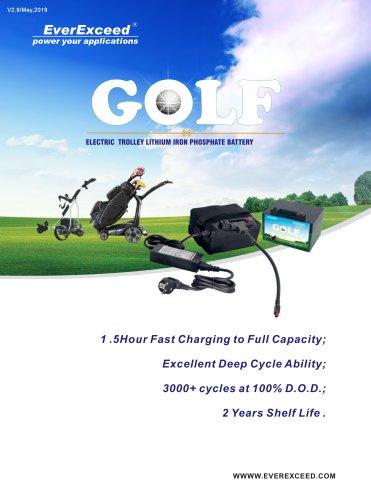 Golf Trolley Lithium Battery