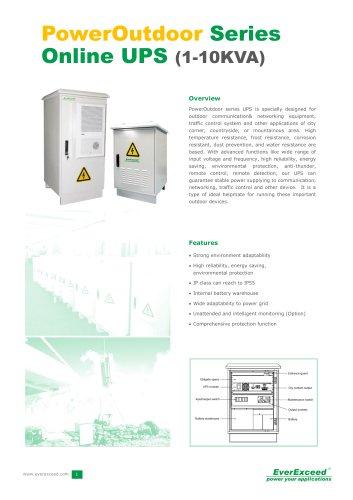 Industrial AC 1-10kVA Power Outdoor Series UPS