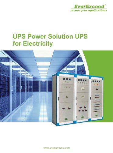 Industrial On-line UPS PowerGuiding series