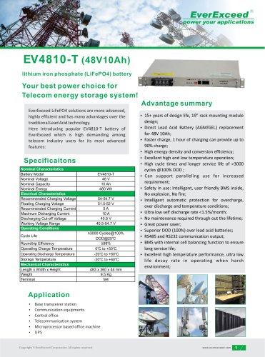 Lithium battery EV4810-T series