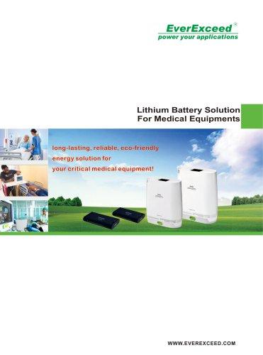Medical equipment Lithium Battery