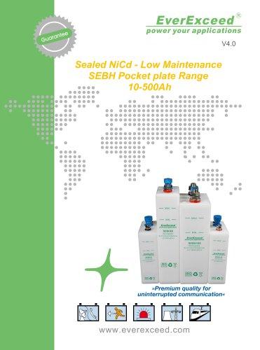 Ni-Cd battery SEBH series
