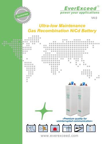 Ni-Cd battery SPL series