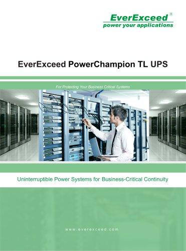 On-line UPS PowerChampion TL series