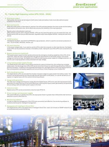 Single phase UPS 1-3KVA PL1 series
