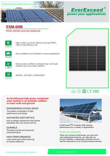 Solar panel ESM-60M