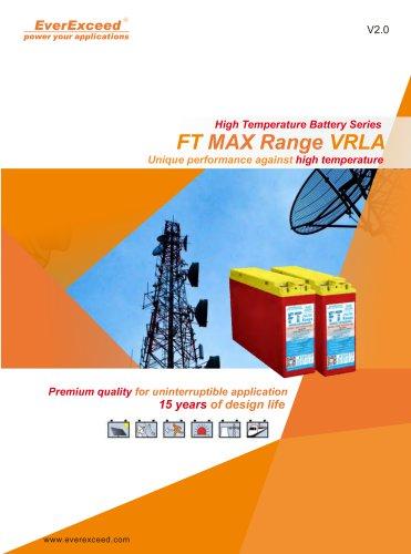 VRLA battery FT MAX series