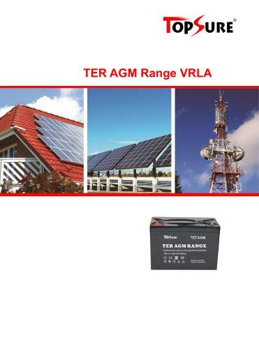 VRLA battery TER 12 series