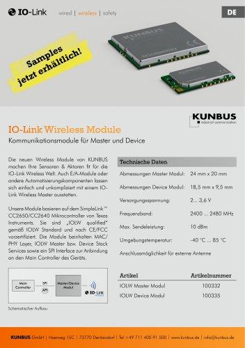 IO-Link Wireless Module