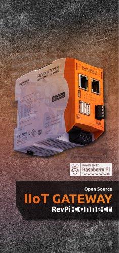RevPi Connect Flyer